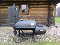 NL smoker with detachable or non-detachable smokehouse