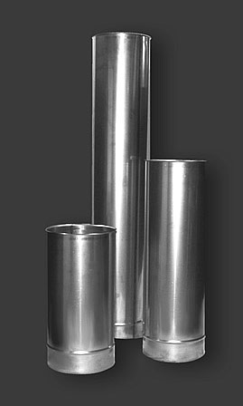 edelstahl schornstein einsatz 130 mm m. Black Bedroom Furniture Sets. Home Design Ideas