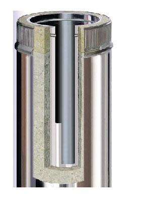 Edelstahlschornstein 160 mm