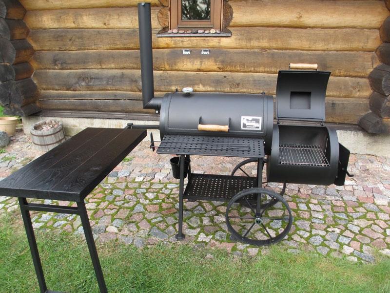 smoker grill 16 4 mm. Black Bedroom Furniture Sets. Home Design Ideas