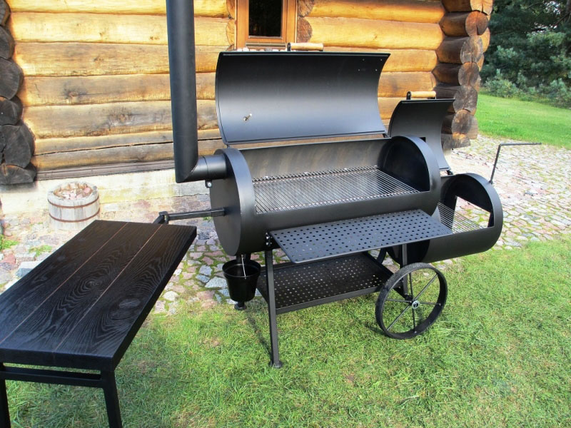 smoker grill 20 long 6 2 mm. Black Bedroom Furniture Sets. Home Design Ideas