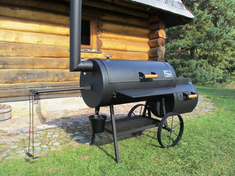 smoker grill 20 long 8 mm. Black Bedroom Furniture Sets. Home Design Ideas